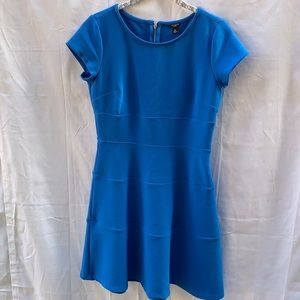 Blue Anne Taylor mid length dress